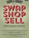 SWAP SHOP SELL Charity Market, Cirque du Cabaret for RSPCA